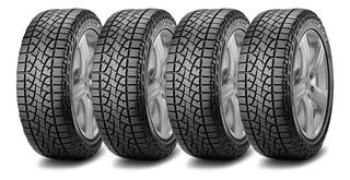 Kit X4 Pirelli 235/75 R15 Scorpion Atr Street Neumen Ahora18