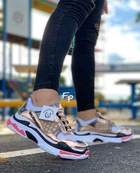 Tenis Deportivos Balenciaga Calzado Para Mujer