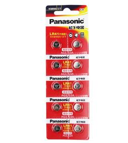 10 Unidades Bateria Pilha Lr41 Panasonic Original !