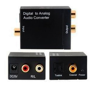 Convertidor De Audio Digital A Análogo Óptico