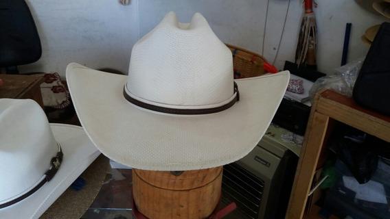 Sombrero Vaquero Blanco (lona Para Verano)