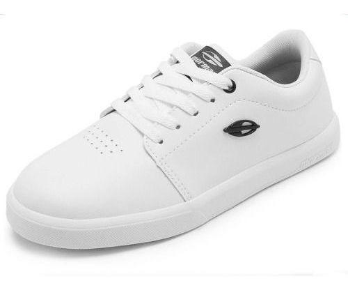 Tenis Feminino E Masculino Branco Preto Mormaii Mor21