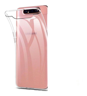 Capinha Case Silicone Galaxy A80 / A90 +pelicula Gel +câmera