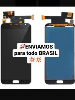 Frontal Touch E Display Para J4 J400 Com Brilho