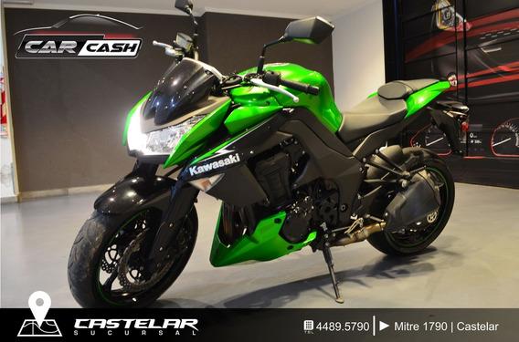 Kawasaki Z1000 - Car Cash