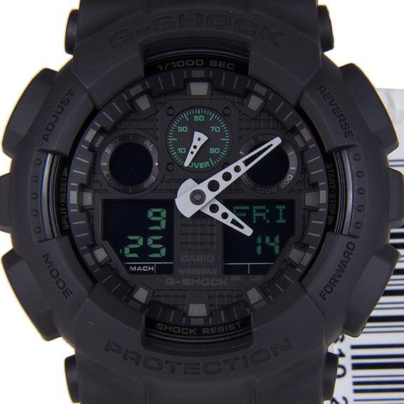 Relogio G Shock Ga100 Anadigi Wr200 100% Original Na Caixa