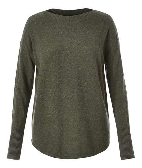 Sweater Mujer Highlands Pull Verde Royal Robbins By Doite