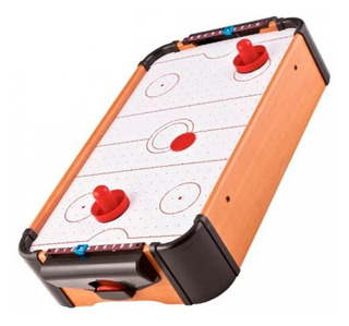 Mini Jogo Mesa De Hockey Air Completo Portátil 510x310x100mm
