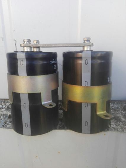Capacitores Electroliticos 3000uf 400v Nichicon