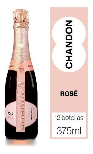 Imagen 1 de 5 de Chandon Rosé Caja 12u X 375ml