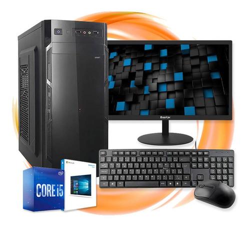 Imagem 1 de 5 de Computador Completo Intel Core I5 8gb Ssd 120gb Monitor Hdmi