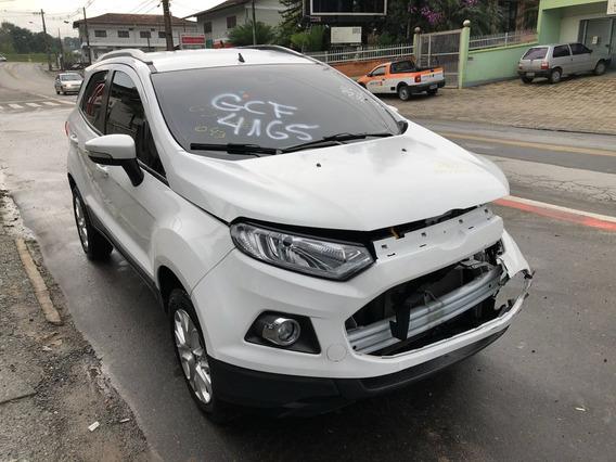 Sucata Ford Ecosport Titanium 2017 Venda De Peças