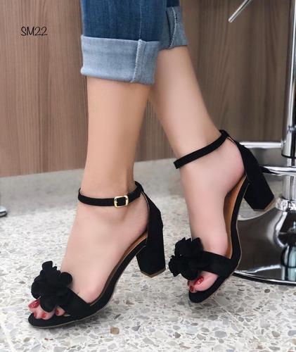 19f06fdf Zapatos Dama Tacon Cuadrado Bajo - Zapatos para Mujer en Mercado ...