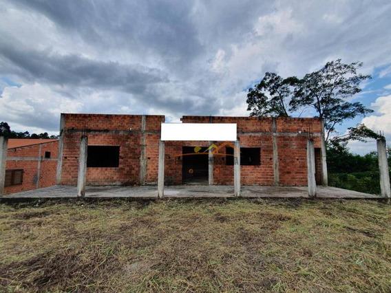 Chácara Com 3 Dormitórios À Venda, 1200 M² Por R$ 170.000,00 - Pinheirinho - Itu/sp - Ch0068