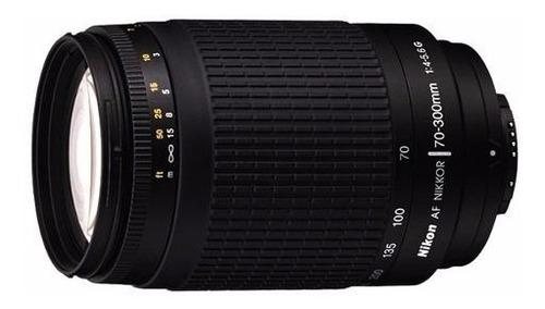 Imagem 1 de 6 de Lente Nikon Af Zoom Nikkor 70-300mm F/4-5.6g Com Parasol