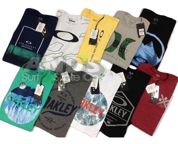 Kit 3 Camisetas Oakley, Hurley E Lost Etc Atacado Revenda