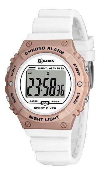 Relógio X Games Feminino Xfppd057 Bxbx Esportivo Digital
