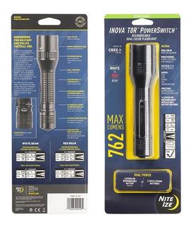 un tama/ño Plateado Inova LML4004 Lanterna,Unisex Adulto