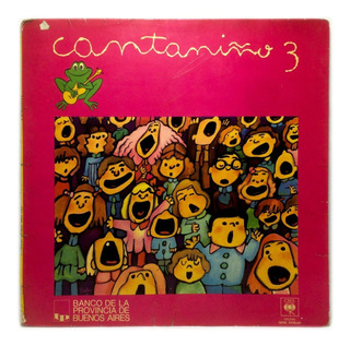 Vinilo Varios Cantaniño 3 Infantil 1979 Argentina