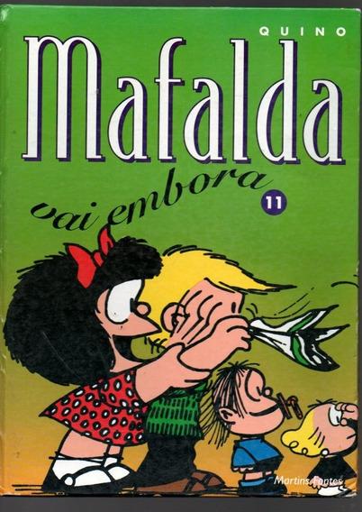 Hq Quino Mafalda Vai Embora Nº 11 Capa Dura (323)