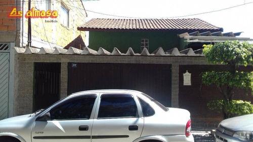 Sobrado Com 3 Dormitórios À Venda, 180 M² Por R$ 340.000,00 - Vila São Rafael - Guarulhos/sp - So0069
