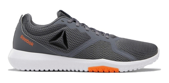 Reebok Zapatillas Running Hombre Flexagon Force Gris-naranja