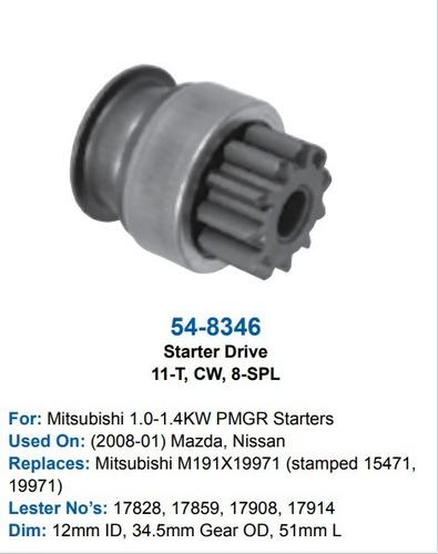 Bendix Arranque Mazda 3, 5, 6 Cx-7, Mpv