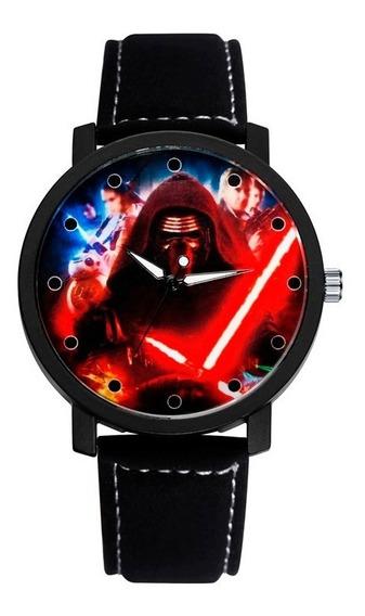 Relógio Masculino Star Wars, Pronta Entrega