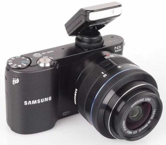 Câmera Fotográfica Profissional Samsung Nx1000