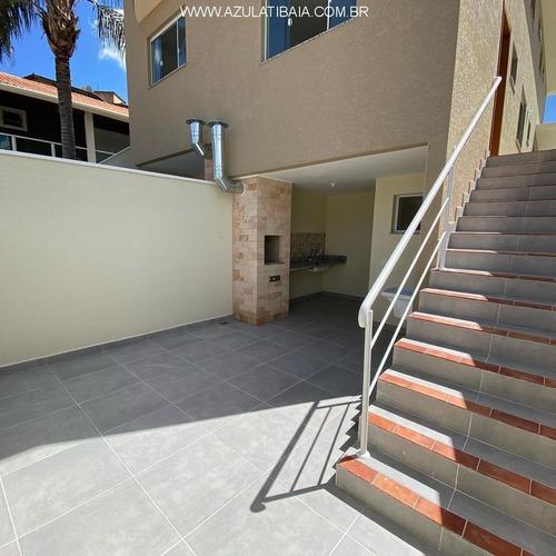 Imagem 1 de 12 de Casa Nova Em Atibaia, Jardim Maristela,  Excelente Localização, Bairro Residencial De Ruas Asfaltadas - Ca01272 - 69373602