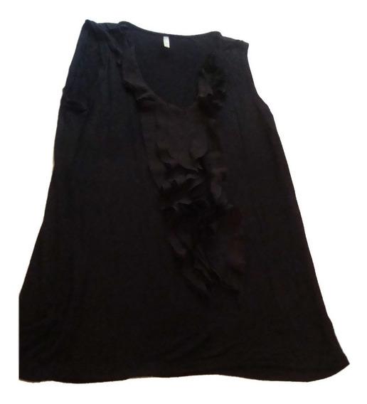 Remera-blusa Markova Talle Xl Gasa Negra E.gratis+cuotas!