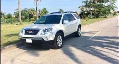 Gmc Acadia 3.6 C 7 Pas Qc Piel 4x4 At 2009