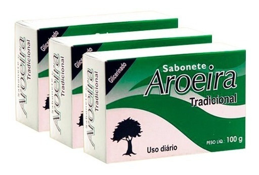 5 Barras De Sabonete Aroeira Adstringente
