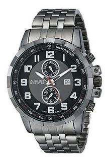 Reloj August Steiner Para Hombre As8153bk Pulso En Acero