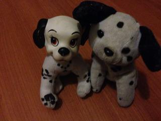 Perritos De Peluche Originales De 101 Dalmatas Disney Usa