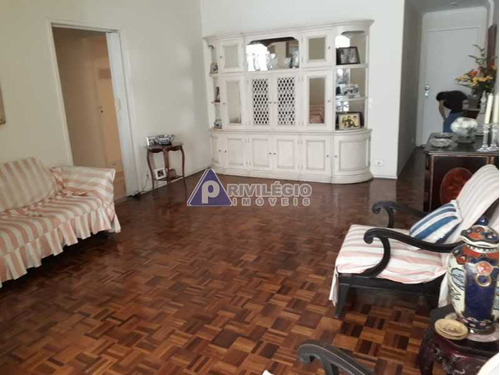 Apartamento À Venda, 3 Quartos, 1 Suíte, 1 Vaga, Laranjeiras - Rio De Janeiro/rj - 21145