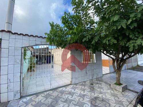 Casa Com 1 Dormitório À Venda, 127 M² Por R$ 380.000 - Caiçara - Praia Grande/sp - Ca0274