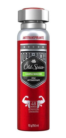 Desodorante Spray Antitranspirante Old Spice Cabra Macho 150