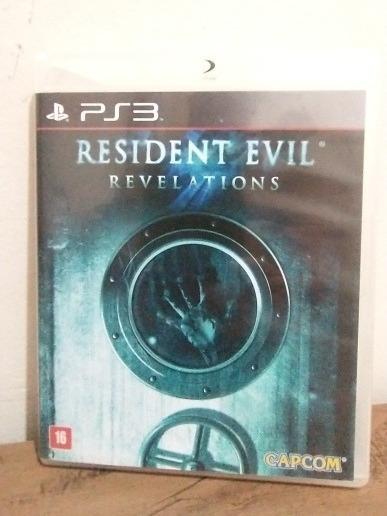 Jogo Residente Evil Revelations Mídia Fisica-ps3 Original