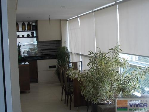 Imagem 1 de 15 de Rua Nobre Com Terraço Gourmet - Nm436