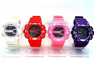 Reloj Digital Hombre Soho Modelo Ch080 Sumergible 30 Metros