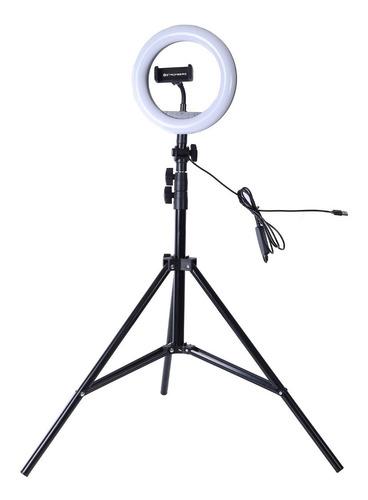 Imagen 1 de 8 de Aro De Luz Led Celular Selfie Trípode 2.1m Stromberg Shine