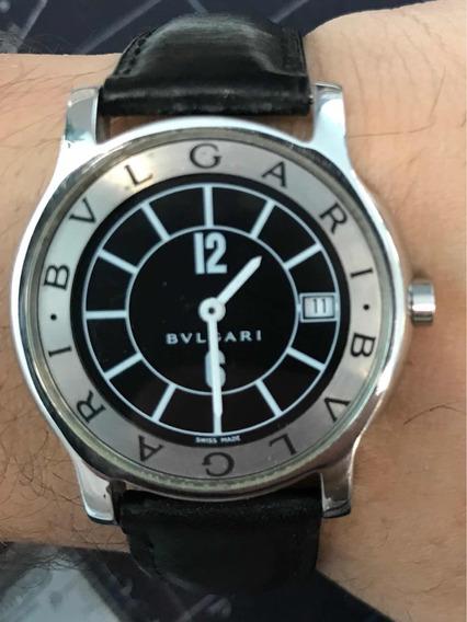 Relógio Masculino Bvlgari Solotempo - Original! Só 1.699!