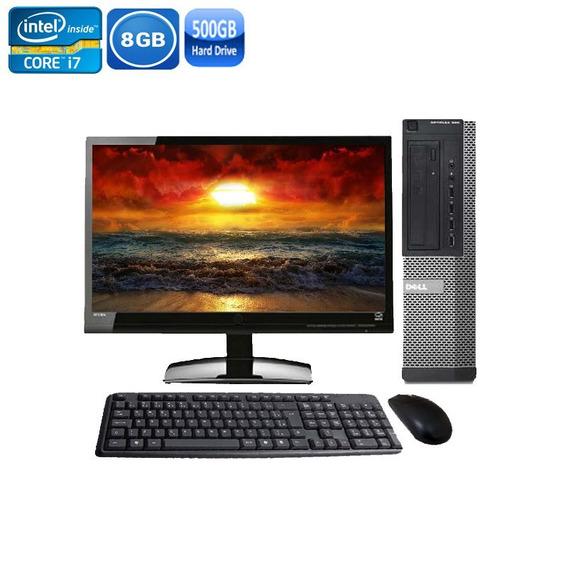 Computador Dell 990 I7 2° Geraç 8gb Hd 500gb + Monitor Dell