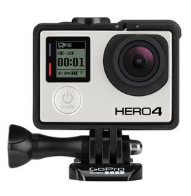 Go Pro Hero 4 Com 4 Baterias + Dome E Muitos Acessórios