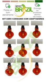 Kit Com 9 Unidades Com Adaptadores