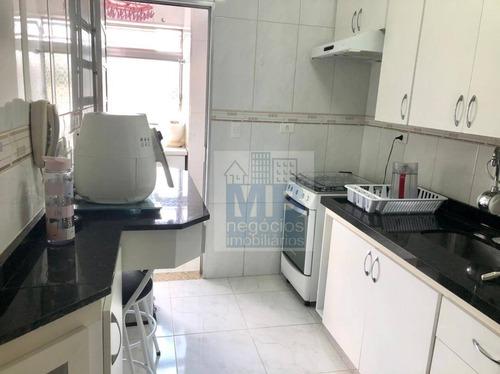 Apartamento Com 2 Dormitórios À Venda, 65 M² Por R$ 650.000 - Vila Mariana - São Paulo/sp - Ap4196