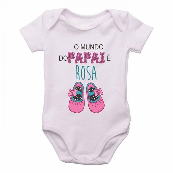 Body O Mundo Do Papai É Rosa