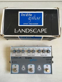 Pedal Landscape Triefx Guitar (overdrive, Chorus E Delay)