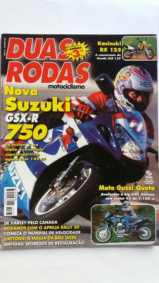 Revista Duas Rodas N°295 Abr/2000 Suzuki Gsx-r 750